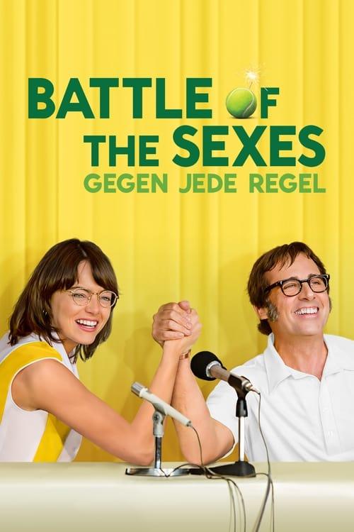 Battle of the Sexes - Gegen jede Regel - Poster