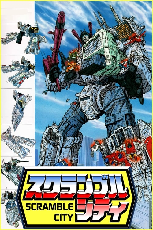 Mira La Película Transformers: Scramble City En Español
