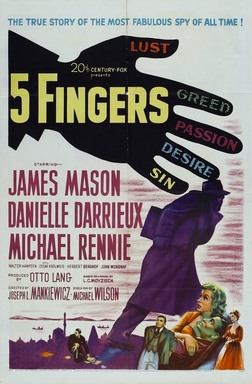 5 Fingers poster