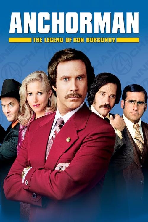 Anchorman: The Legend of Ron Burgundy film en streaming