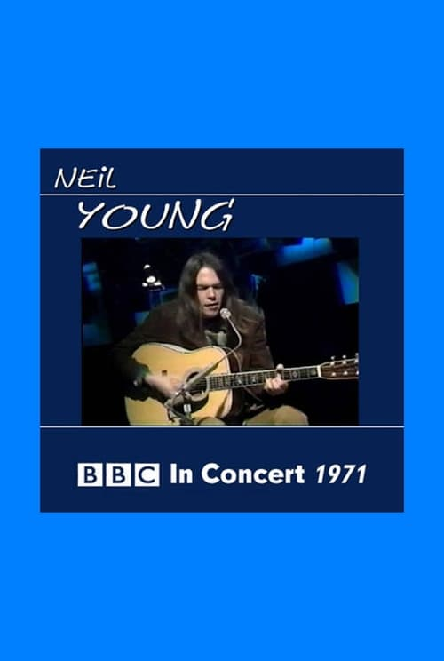 Largescale poster for Neil Young In Concert 1971 BBC