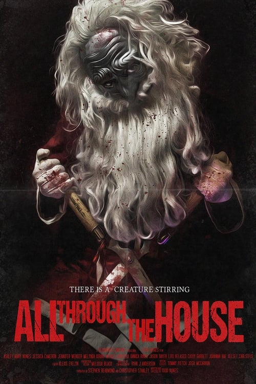 The poster of All Through the House