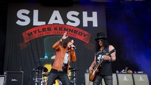 Ver pelicula Slash feat. Myles Kennedy & The Conspirators - Rock am Ring 2015 Online