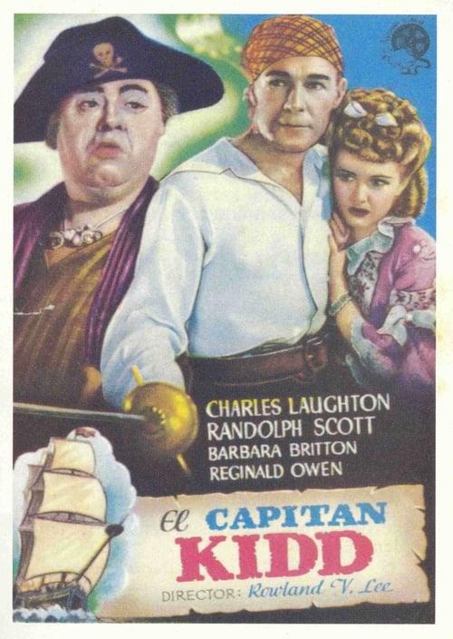 Ver El capitán Kidd Gratis