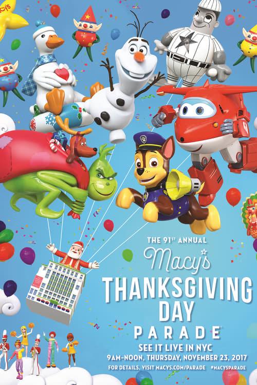 Sehen Sie 91st Annual Macy's Thanksgiving Day Parade Kostenlos In Guter Qualität An