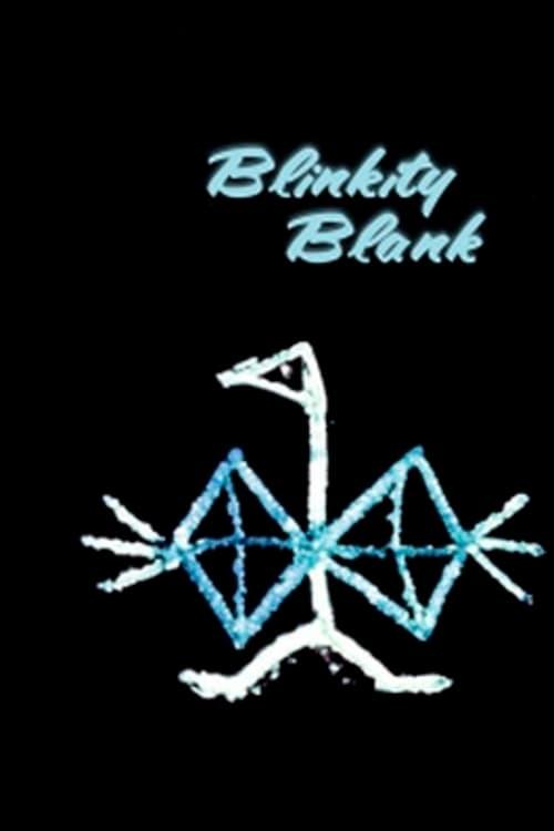 Blinkity Blank poster