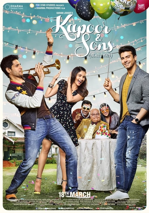 Streaming Kapoor & Sons (2016) Full Movie