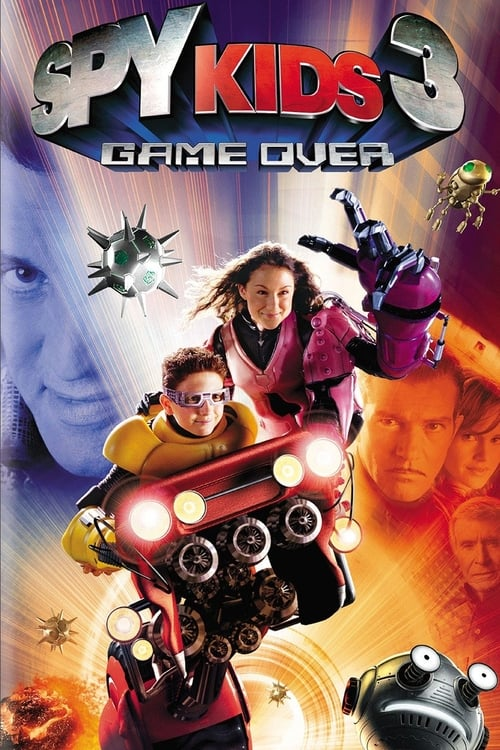 Streaming Spy Kids 3-D: Game Over (2003) Movie Free Online