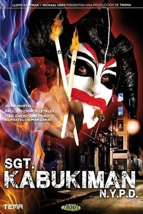 Mira La Película El sargento Kabukiman Doblada Por Completo