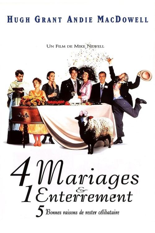 Regarder Quatre mariages et un enterrement (1994) Streaming HD FR