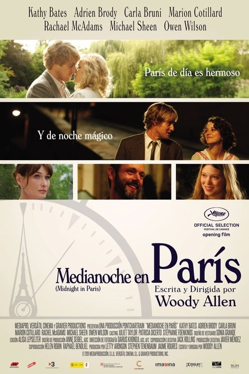 Película Midnight in Paris Gratis