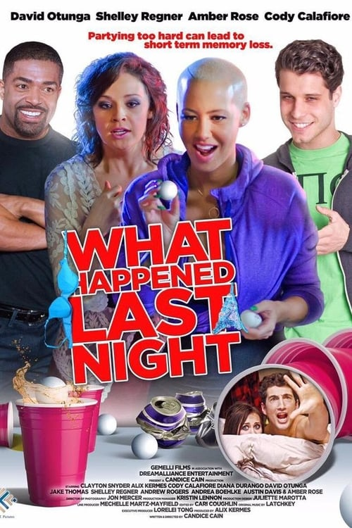 What Happened Last Night (2016) Poster
