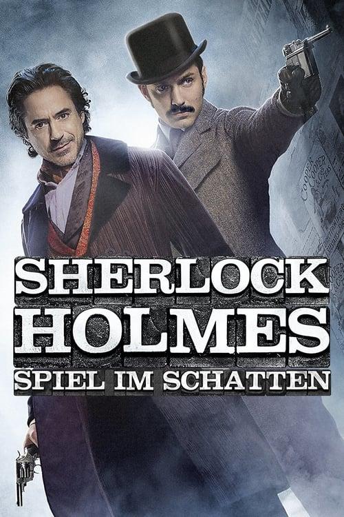 Sherlock Holmes - Spiel im Schatten - Poster