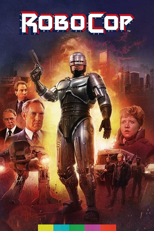 Largescale poster for RoboCop