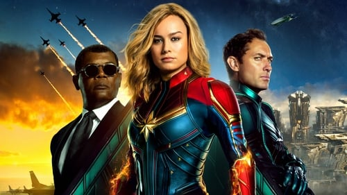 Captain Marvel (2019) (Hindi+English)