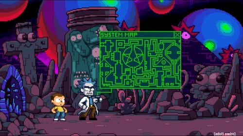 Rick and Morty - Season 0: Specials - Episode 21: Rick and Morty in the Eternal Nightmare Machine