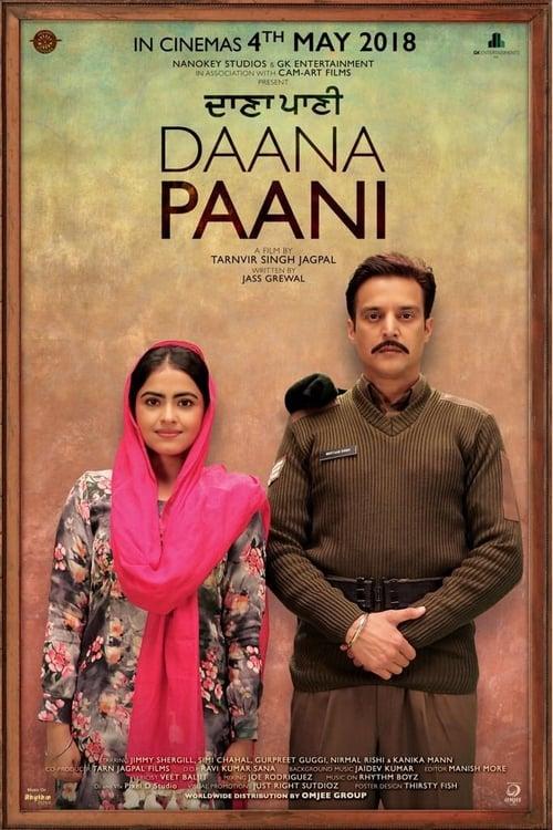 Daana Paani Affiche de film