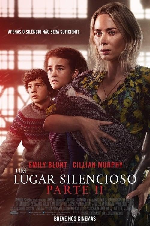 Filme Um Lugar Silencioso - Parte II Dual Áudio 2021 – FULL HD 1080p