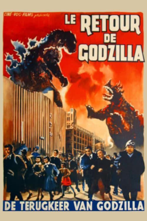 © Le retour de Godzilla (1955) •
