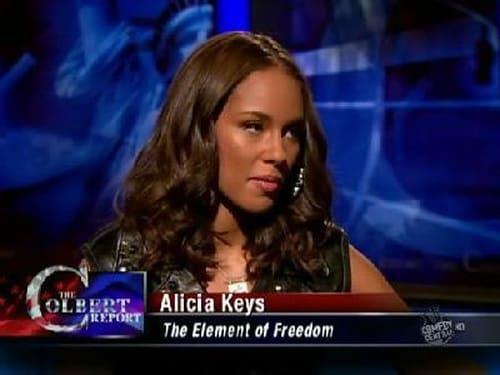 The Colbert Report: Season 5 – Episod Alicia Keys