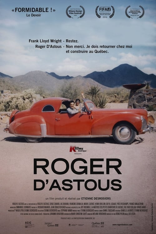 Roger D'Astous Vidéo Plein Écran Doublé Gratuit en Ligne FULL HD 1080