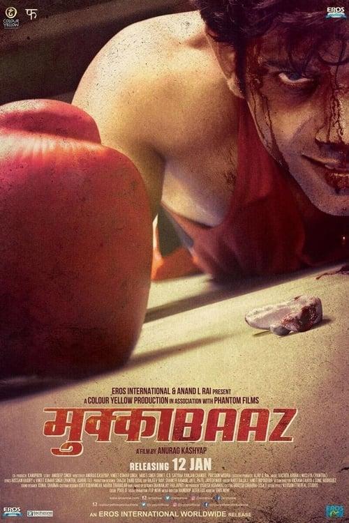 Mukkabaaz poster
