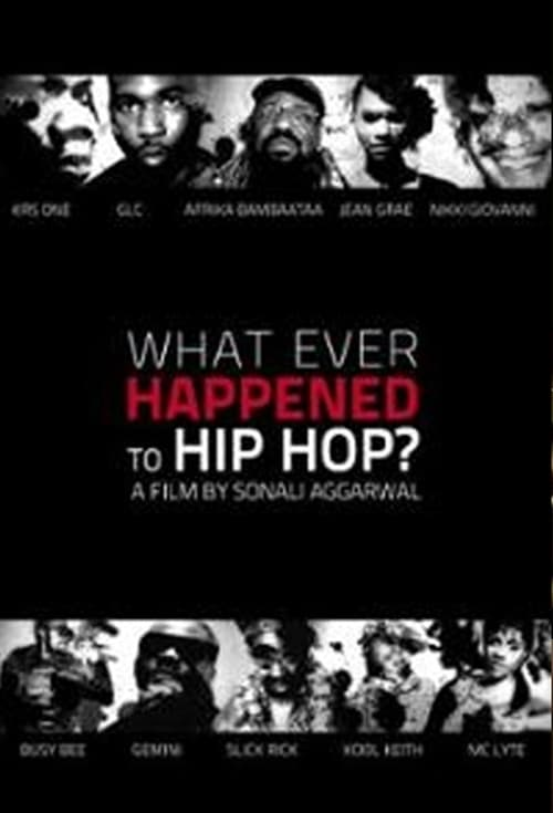 What Ever Happened to Hip Hop? poster