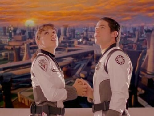 Power Rangers 2001 Full Tv Series: Time Force – Episode Force from the Future (1)