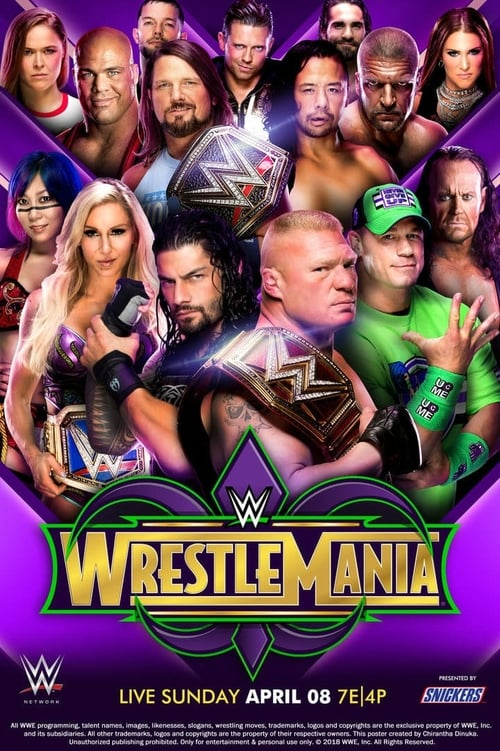 Imagen WWE WrestleMania 34