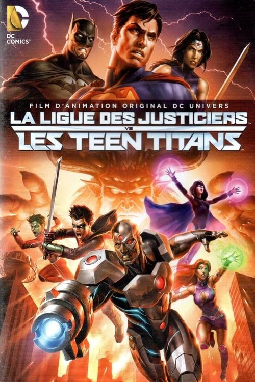 [FR] La Ligue des justiciers vs les Teen Titans (2016) film vf