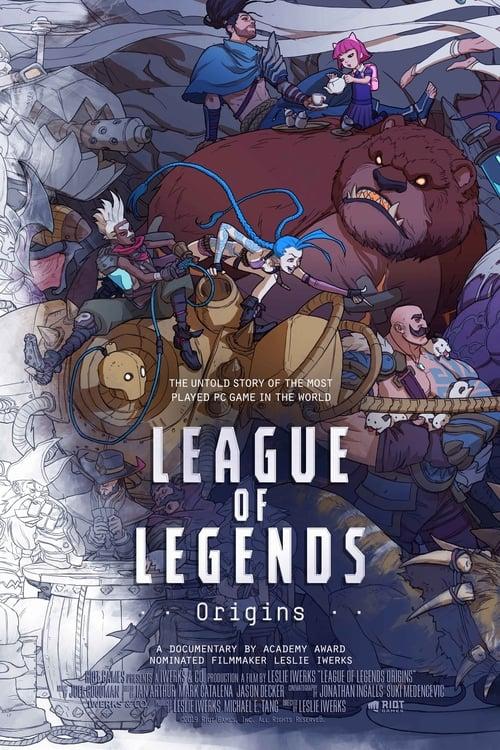 Poster von Die Geschichte von League of Legends