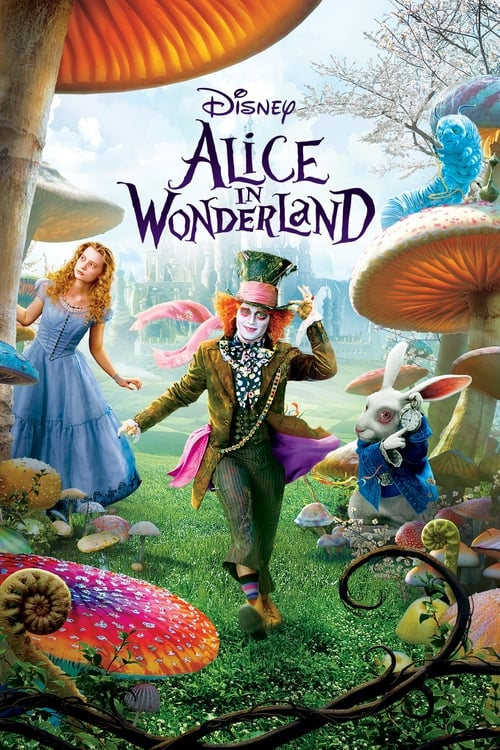 Poster for the movie, 'Alice In Wonderland'