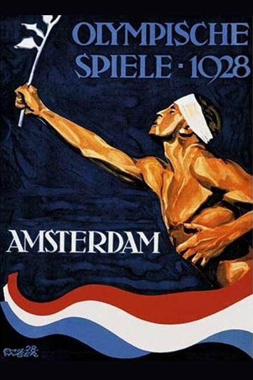 The IX Olympiad in Amsterdam poster