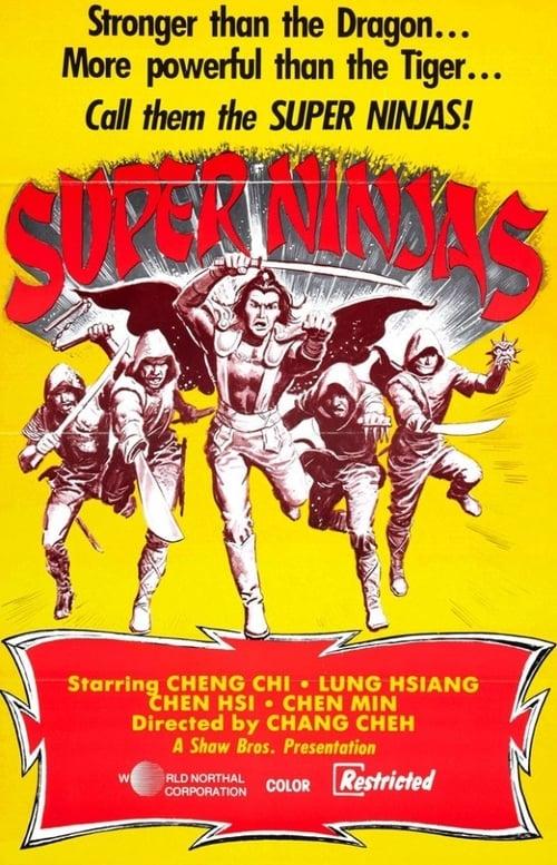 Five Element Ninjas (1982) Poster