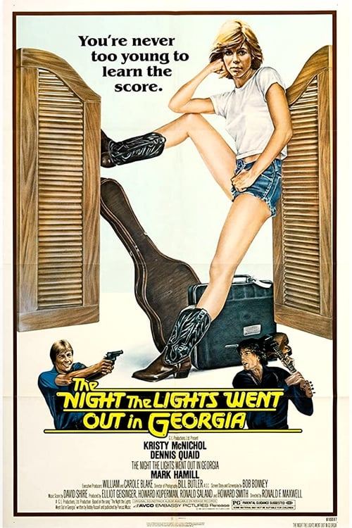 The Night the Lights Went Out in Georgia (1981) Poster