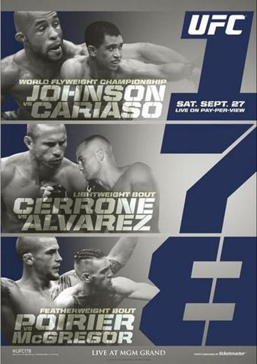 Ver UFC 178: Johnson vs Cariaso Online