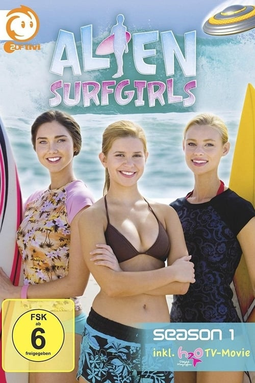 Poster von Alien Surfgirls