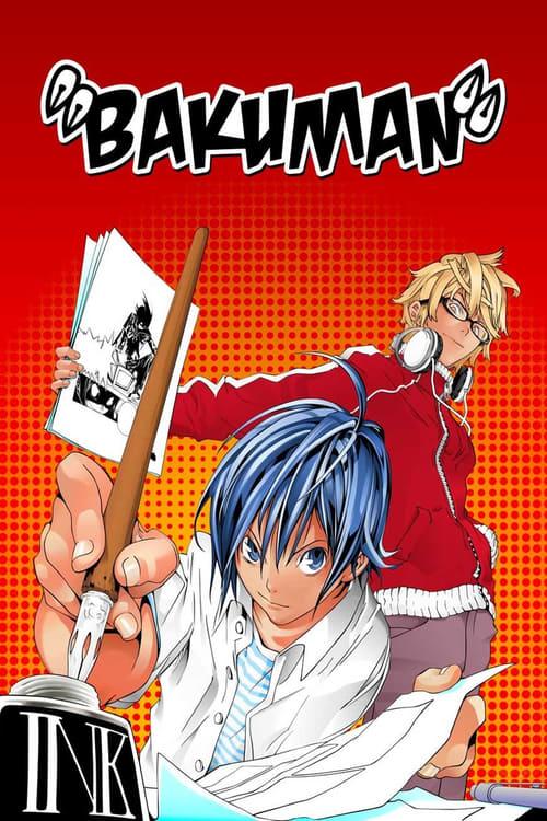 Subtitles Bakuman。 (2010) in English Free Download | 720p BrRip x264