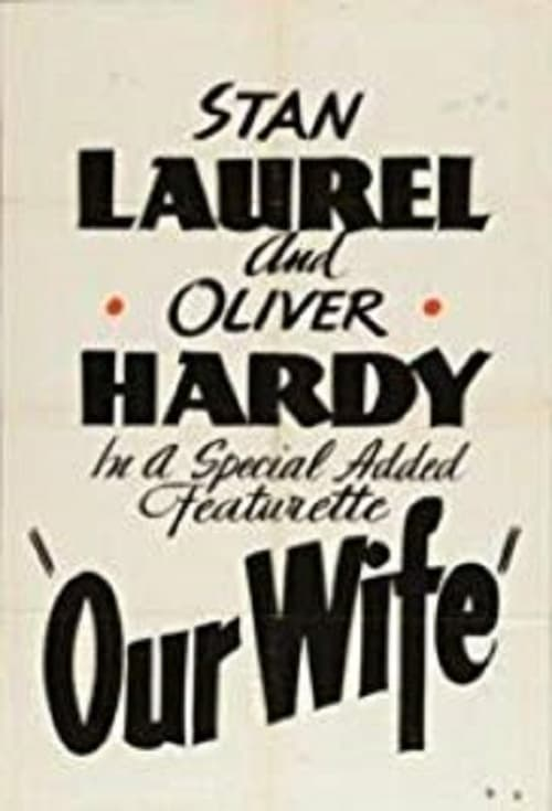 Our Wife (1931)