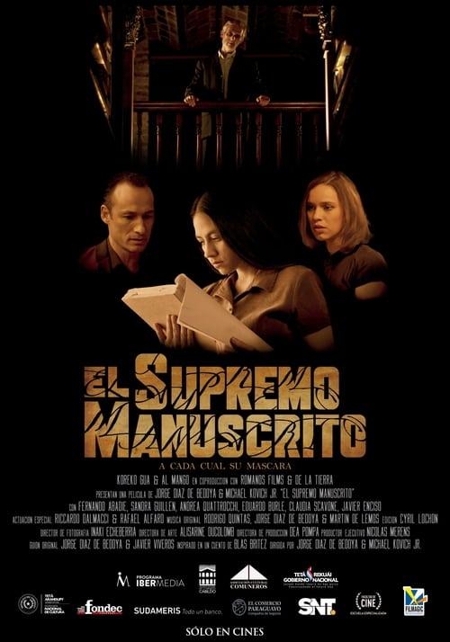 Elokuva El Supremo Manuscrito Laadukkaita Ilmaiseksi