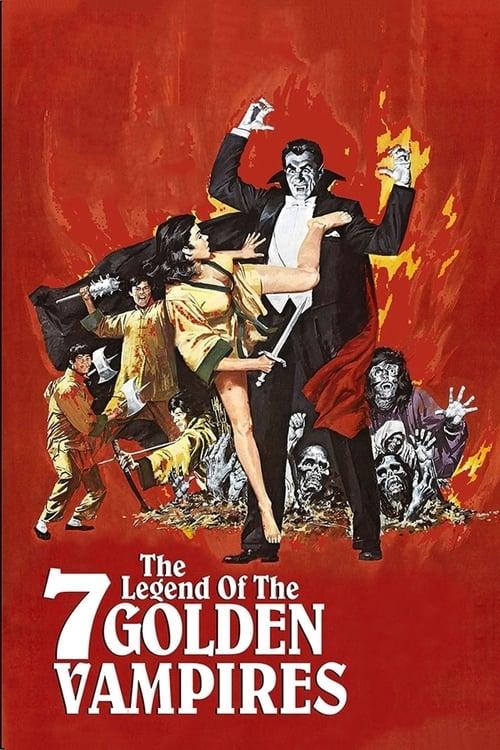 The Legend of the 7 Golden Vampires Poster
