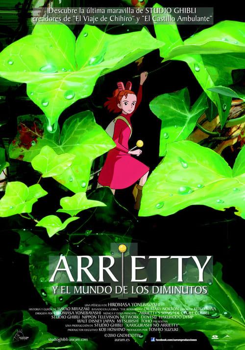 Ver Arrietty y el mundo de los diminutos Online