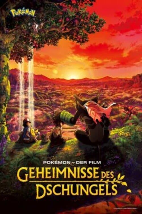 Pokémon - Der Film: Geheimnisse des Dschungels - Poster