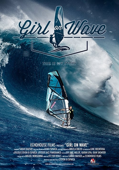 Girl on Wave poster