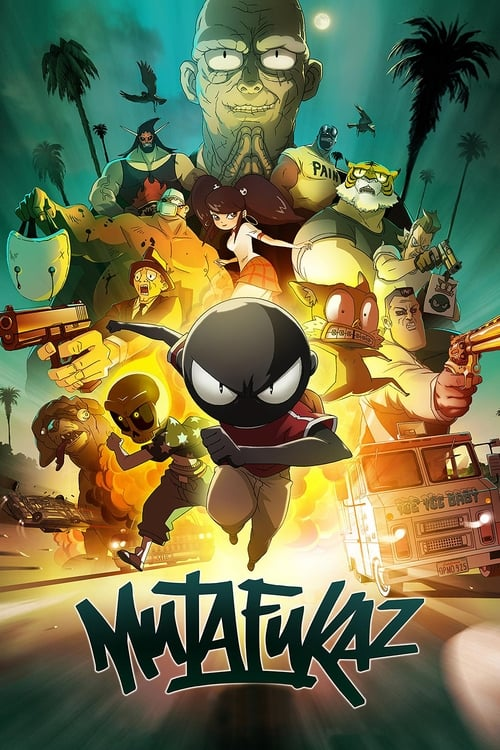Regarder ஜ Mutafukaz Film en Streaming HD