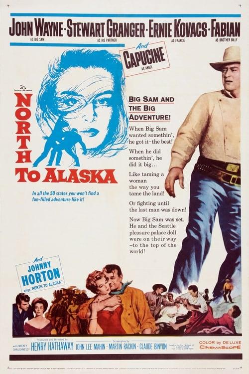 Elokuva North to Alaska Ilmaiseksi Suomeksi