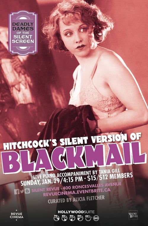 Blackmail (Silent Version) (1929)