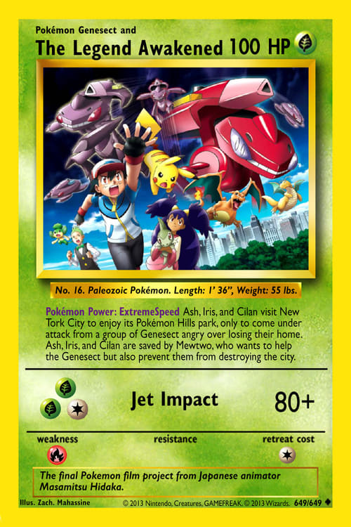 Pokémon the Movie: Genesect and the Legend Awakened (2013)