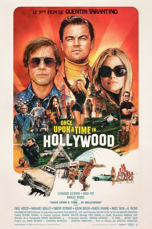 Voir Once Upon a Time… in Hollywood Film en Streaming VF