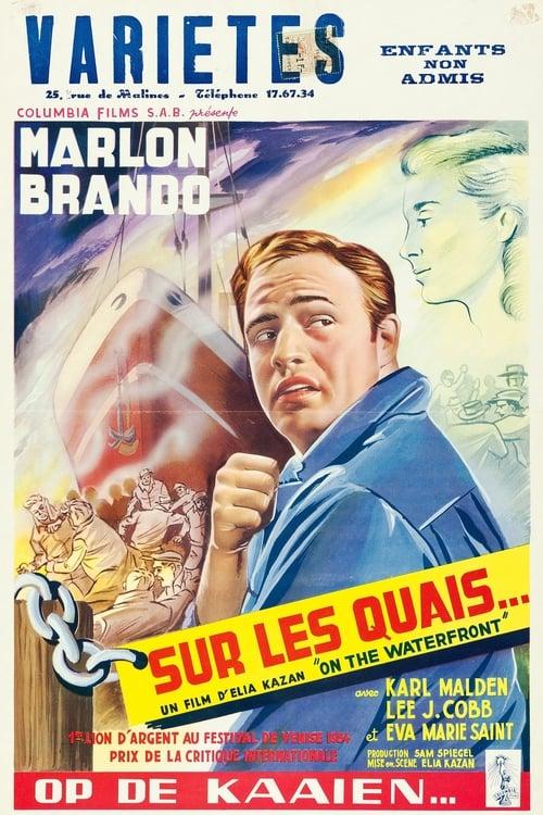 Regarder Sur les quais (1954) Streaming HD FR